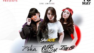 Savage T-Sha & Putri Danizar & Ivy G