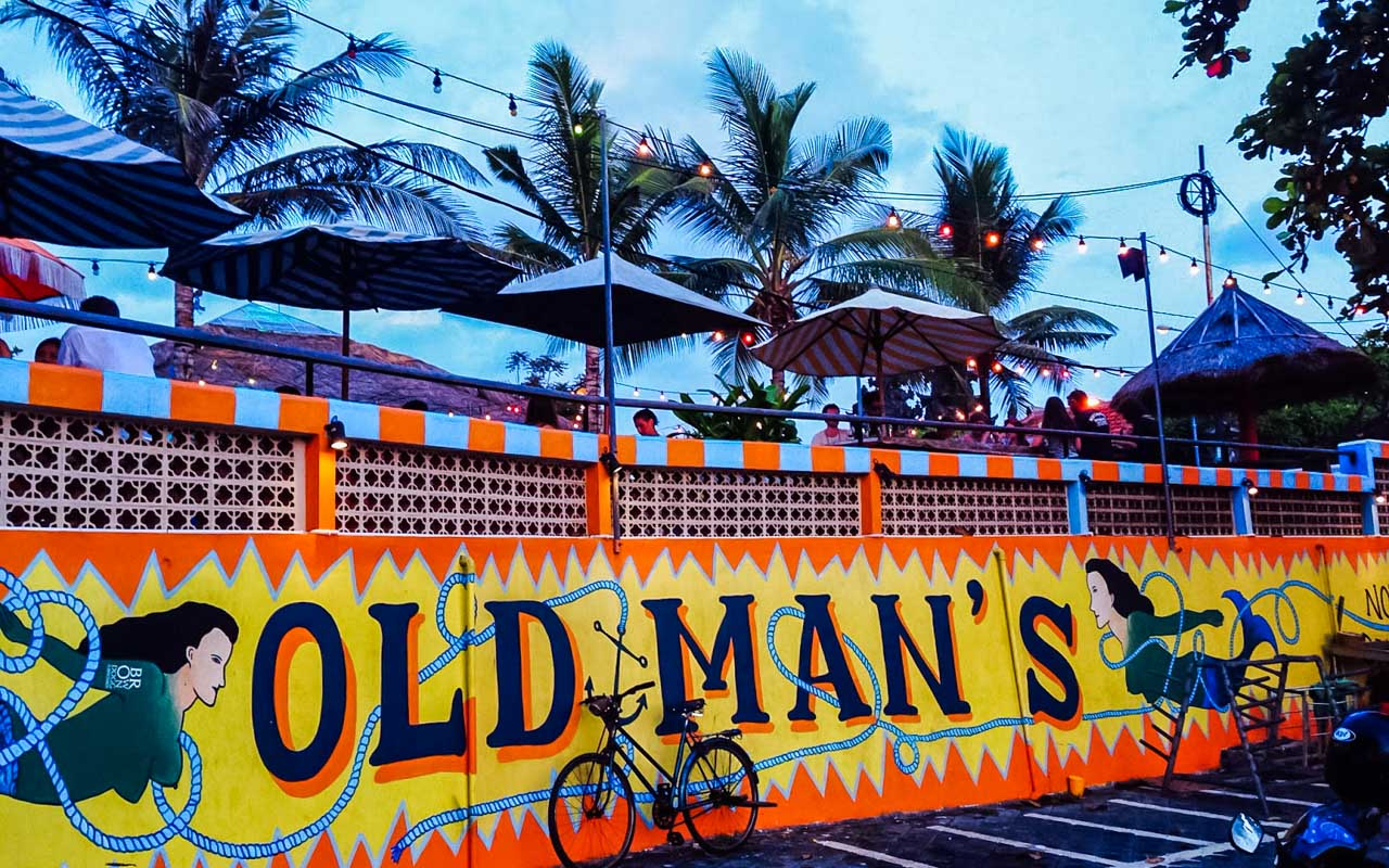 best nightclub in bali old mans