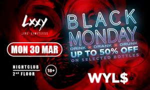 Lxxy event 30 march 2020