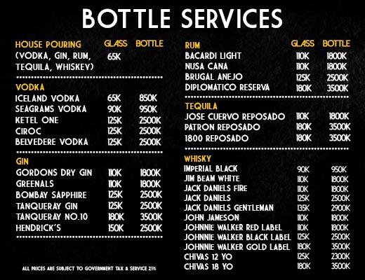 lxxy bottle services