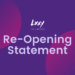 Re-Opening Statement LXXY Bali